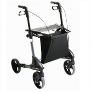 TOPRO TROJA Classic- Medium - Rollator Walker - Optional backrest # 814750/100 - DARK GREY