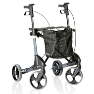 TOPRO Troja Parkinson's Rollator Neuro - Small - Optional backrest # 814747 - SILVER