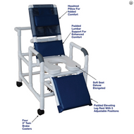 MJM International - 193-SSDE Reclining Shower Chair