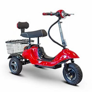 E-Wheels - EW-19R Sporty Affordable long range Scooter - Red