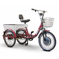E-Wheels - EW-29 Electric Trike Tricycle Red