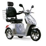 EW-36S Three Wheel Electric Mobility Scooter - Silver