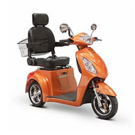 E-Wheels - EW-36O Elite Three Wheel Electric Mobility Scooter - Orange