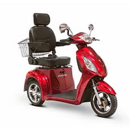 EW-36R Three Wheel Electric Mobility Scooter - Red