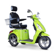 E-Wheels - EW-36G Three Wheel Electric Mobility Scooter - Sour Apple Green