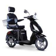 E-Wheels - EW-36BLK Three Wheel Electric Mobility Scooter - Black