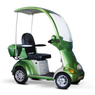 EW-54G Buggie - Four Wheel Electric Mobility Scooter Full Size Canopy - Green