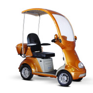 E-Wheels - EW-54O Buggie - Four Wheel Electric Mobility Scooter Full Size Canopy - Orange