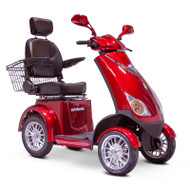 E-Wheels - EW-72R Four Wheel Electric Mobility Scooter - Red