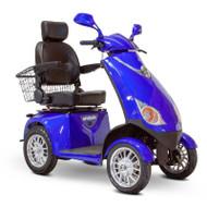 E-Wheels - EW-72B Four Wheel Electric Mobility Scooter - Blue
