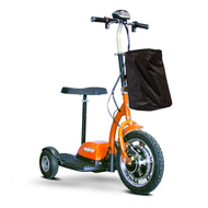 E-Wheels - EW-18 Stand-N-Ride Mobility Scooter - Orange