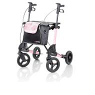 Shopping bag detachable Rose Sublime (white & pink) - # 814672