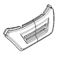 Afikim -Afiscooter S4 Front Bumper
