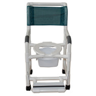 MJM International - 118-3TL-SSDD-FF-SQ-PAIL - (Deluxe Elongated Open Front Seat shown not included)