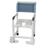 MJM International - 118-3TW-IF - Soft Seat Deluxe Shown Not Included, Chair Comes With Deluxe Elongated Open Front Seat