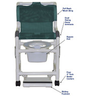MJM International - 118-3TW-SF-10-QT-C-SSDE-DDA,  (Deluxe Elongated Open Front Seat shown not included)