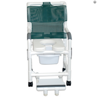 MJM International - 118-5TL-SQ-PAIL-DDA-SSDE - (Sliding Footrest Support Shown Not Included)