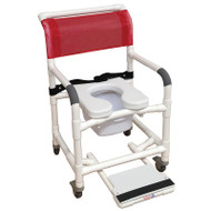 MJM International - 122-3TL-VS-BB-22-10-QT-C-SF - Soft Seat Deluxe Shown Not Included - Chair Comes With Vaccuum Seat