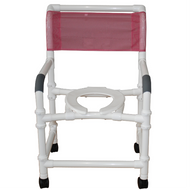 MJM International - 122-3TW-KD-SSDE - Deluxe Elongated Open Front Seat Shown Not Included
