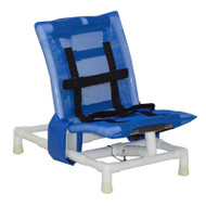 MJM International - B191-SC-A - Chair Comes With Blue PVC, Base, And Casters (Rubber Tips Not Included)