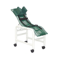 MJM International - 191-SC - Chair Comes With Base And Casters Shown Here On A The Model In Medium (Head Bolster Not Included)