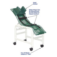 MJM International - 191-MC-B - Chair Comes With Dual Base And Casters (Head Bolster Not Included)