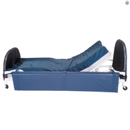 MJM International - 680-40-R (Headboard/Footboard,  Casters, One Piece Safety Pad, And Mattress Shown Not Included)