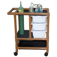 MJM - Emergency Crash Cart - Woodtone  # WT1010-3TW