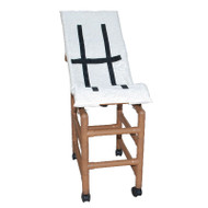 MJM International - WT191-MC-HB - Chair Comes With Wood Tone (brown) PVC, Color Shown Here On Model WT191-LC-B