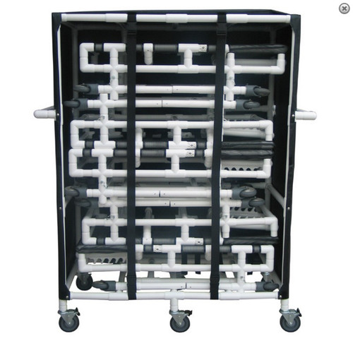 MJM International - 4PK-SOFB-PEDI - Similar Cart With 5 Bed Capacity Shown Here