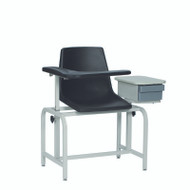 Winco - Blood Drawing Chair Plastic Seat with Drawer # 2570