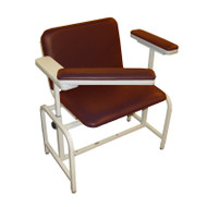 Winco - XL Blood Drawing Chair Padded Vinyl # 2575