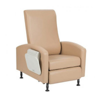 Winco - Vero XL Care Cliner - Gas Back - Swing Arms - Pedestal Feet # 6X54