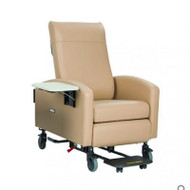 "Winco - Vero XL Care Cliner - Gas Back - Swing Arms - 3"" Casters # 6X53 (Footplate And Side Table Not Included)"