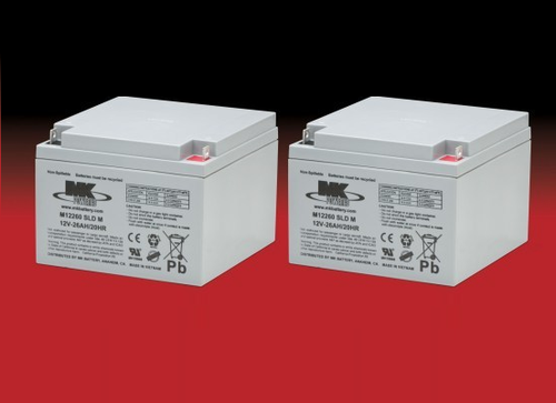 MK Battery - M12260 SLD M - Pair MK Sealed Light Duty AGM Batteries - Pair