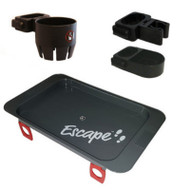 Escape Rollator Accessories Pack (Cane holder - Cup holder - Tray) # 500-4400