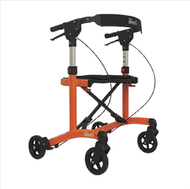 "Escape Rollator Mini Orange -20"" seat height # 500-20203"