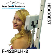 Aqua Creek - Headrest Option for All Lifts - Ambassador - Pro - Portable Pro - Patriot - Ranger - Admiral - Revolution - Scout - Titan - Ultra - Elite # F-422PLH-2