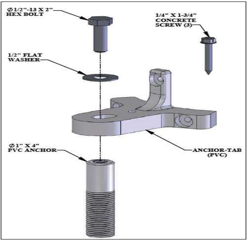 Aqua Creek - ADA Fix Kit for Scout/Revolution/Titan Lifts # F-840SDS