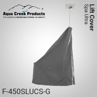 Aqua Creek - Lift Cover for Spa Ultra, Standard (Gray) - F-450SLUCS-G - Can be used with Solar Charger
