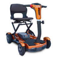 EV Rider - Teqno S26 Transportable/Foldable Mobility Scooter - Jupiter Gold