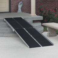 "PVI - Multifold Ramp WCR530 - 7'L x 30""W laid out"