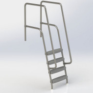 Spectrum Aquatics - Missoula 4-Step Ladder - # 25019