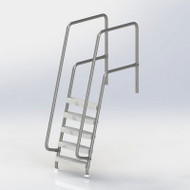 Spectrum Aquatics - Missoula 5-Step Ladder - # 25025