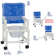 "MJM International - Shower Chair 18"" - # 118-3TW-DDA-DD-SQ-PAIL"