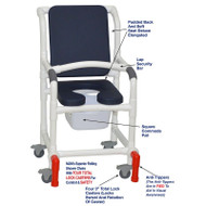 "MJM International - Shower Chair 18"" - # 118-3TL-SSDE-CBP-AB-SQ-PAIL-LSB-AT"