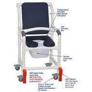 "MJM International - Shower Chair 18"" - # 118-3TL-SSDE-CBP-AB-SQ-PAIL-LSB-AT"
