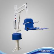 Aqua Creek - Lift, Spa Ultra (51) No Anchor, 400 lb Cap, White w/Blue Seat - F-005SLU