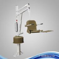 Aqua Creek - Lift, Spa Ultra (51) No Anchor, 400 lb Cap, White w/Tan Seat - F-005SLU-T