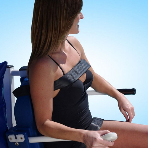 Aqua Creek - Chest Strap Option- For PVC Pool Access Chairs